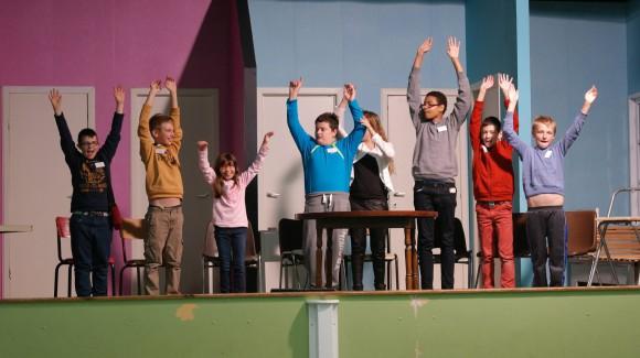 Premier atelier théâtre proposé par notre ASBL