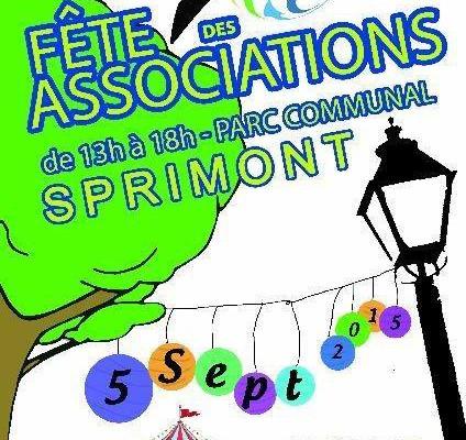 Notre ASBL présente à la fête des associations de Sprimont