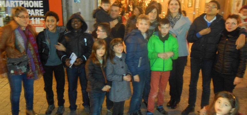 Sortie avec les enfants au Forum de Liège – Spectacle de Mr Timoté (lien vidéo)