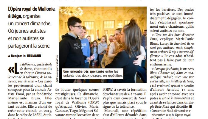 ON PARLE D'ARTISTE EMOI DANS L'AVENIR !